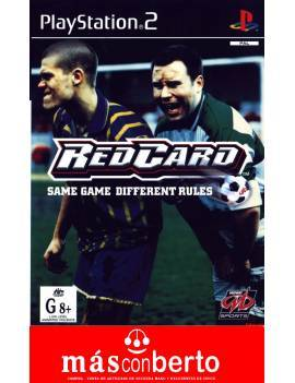 Juego PS2 Red Card
