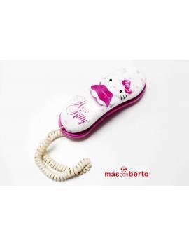 Teléfono fijo Hello Kitty...