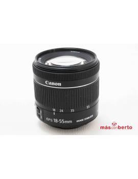 Objetivo Canon 18/55mm