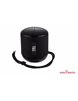 Altavoz Bluetooth T&G Negro...