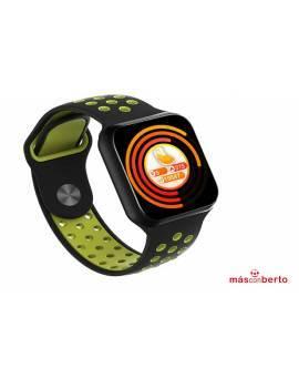 SmartWatch F8 verde/negro