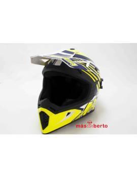 Casco motocross ECE-R20.05...