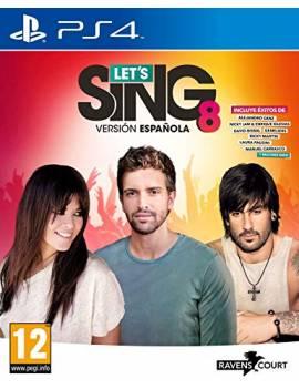 Juego PS4 Let´s sing 8...