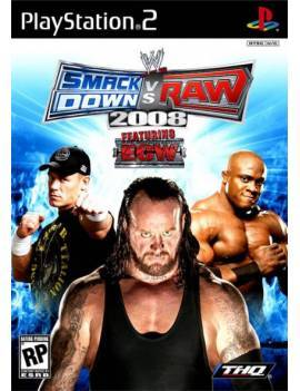Juego PS2 Smack vs Raw 2008