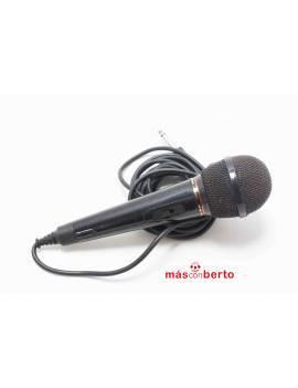 Micrófono con conexión Jack