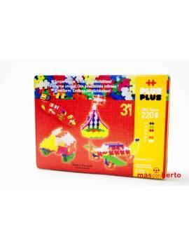 Caja de puzzle plusplus 3 en 1