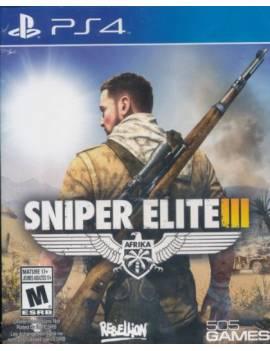 Juego PS4 Sniper Elite III