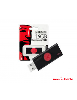 Pendrive de 16GB Kingston...