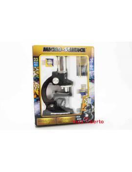 Microscopio infantil 23 pzas