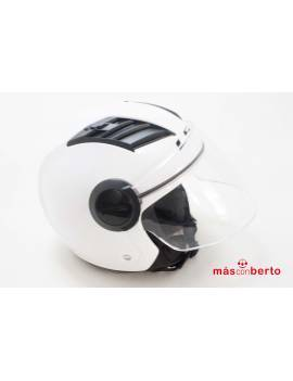Casco de moto LS2 T-M blanco