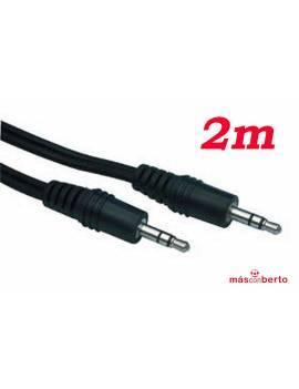 Cable 2m Jack macho - macho
