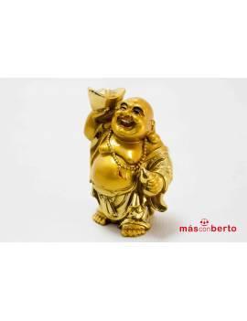 Figura dorada Buda 10 cm