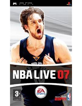 Juego PSP NBA LIVE 07