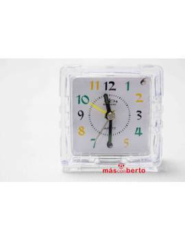 Reloj despertador analógico...