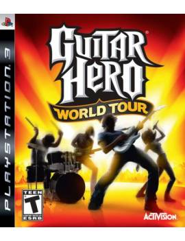 Juego PS3 Guitar Hero World...