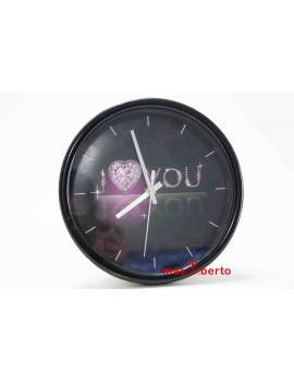 Reloj pared I love you