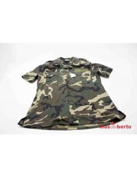 Camisa militar manga corta...