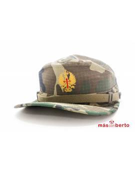 Gorra militar boscosa talla P