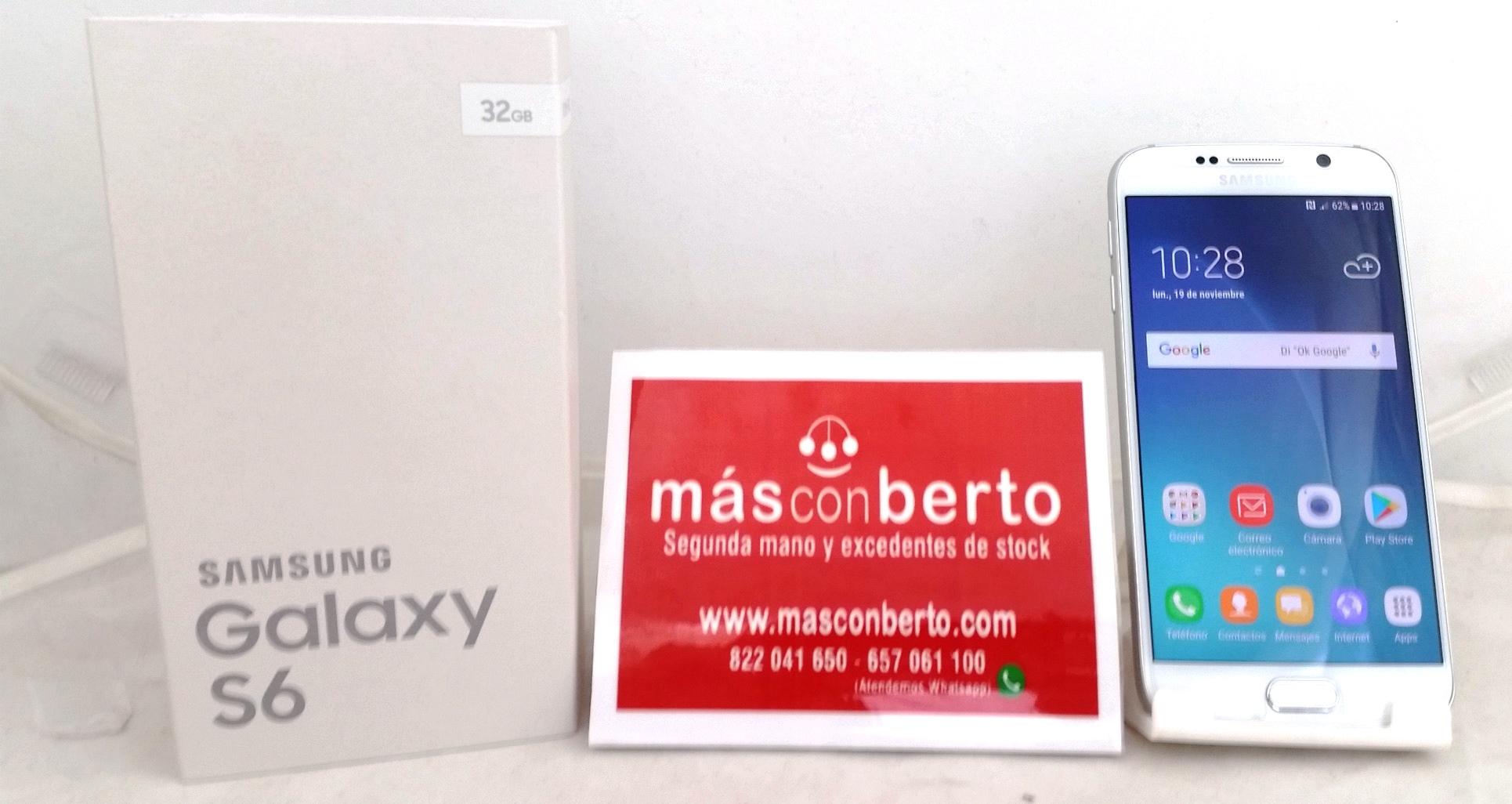 Móvil Samsung Galaxy S6 3