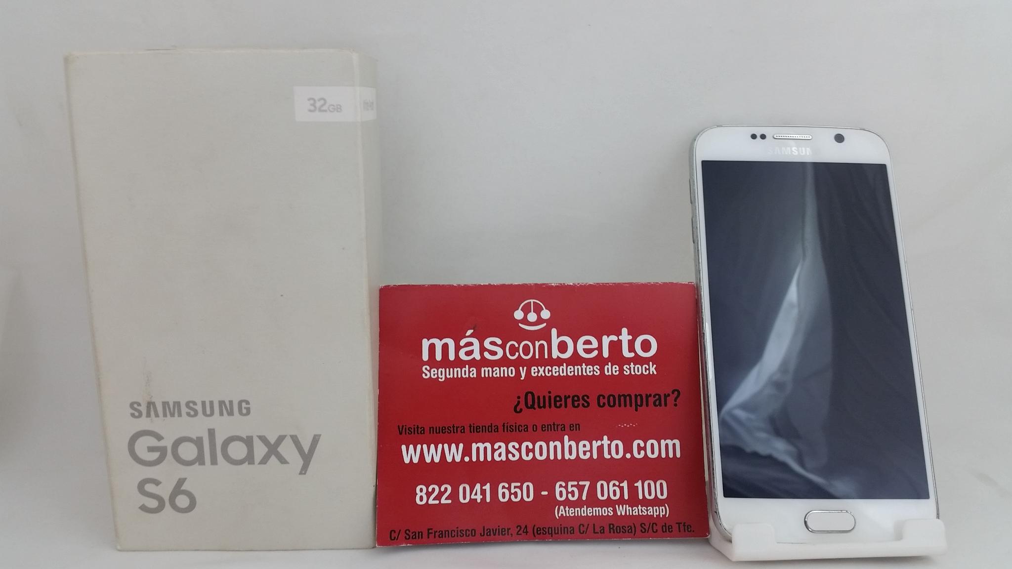 Móvil Samsung Galaxy S6  32...