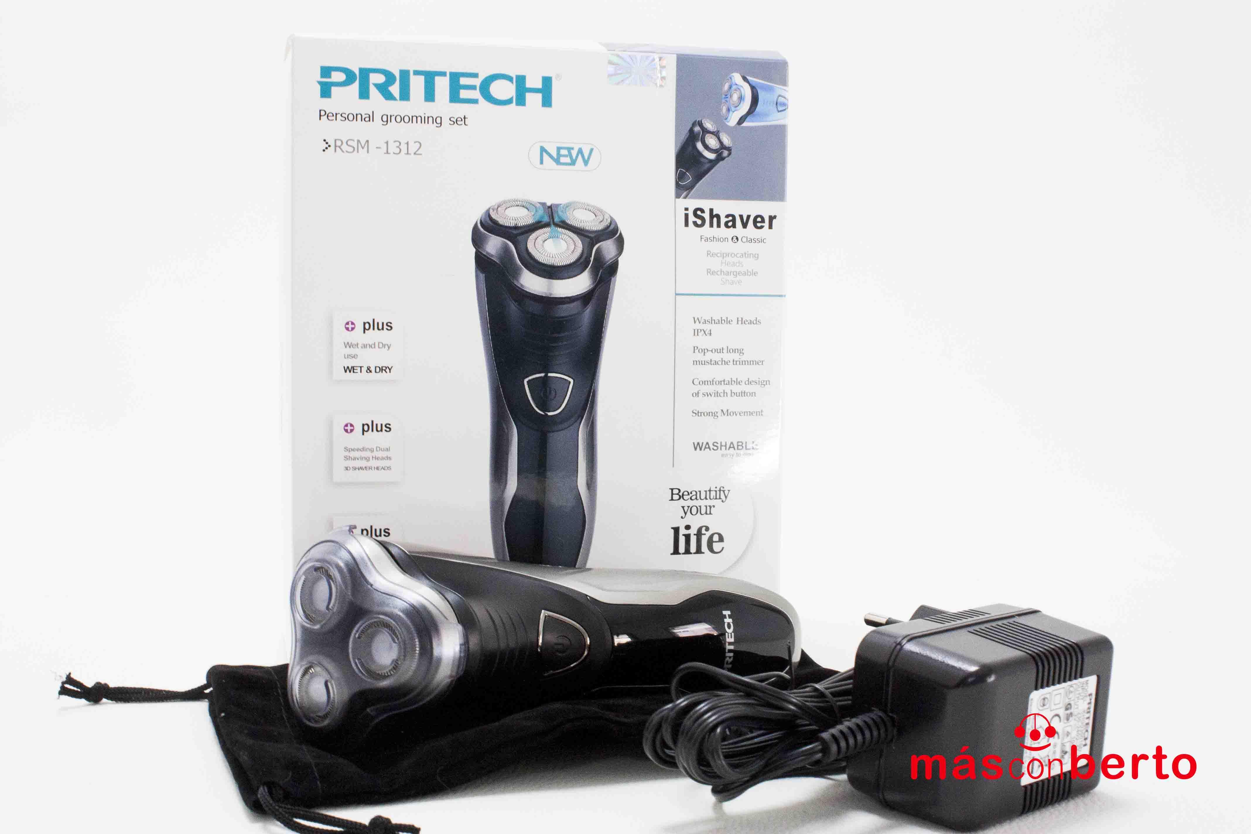 Afeitadora Pritech RSM-1312
