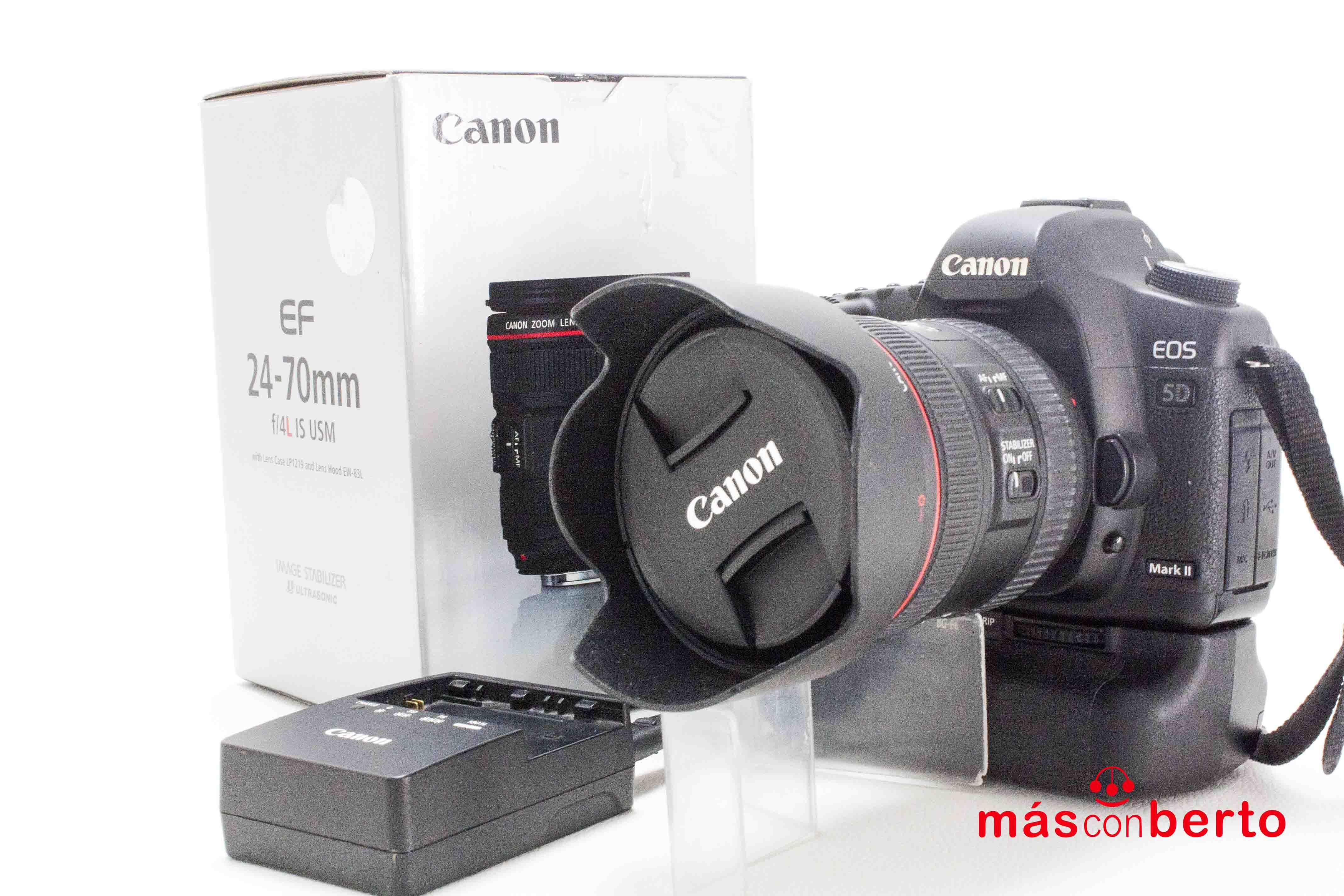 Cámara Canon 5D Mark II con...