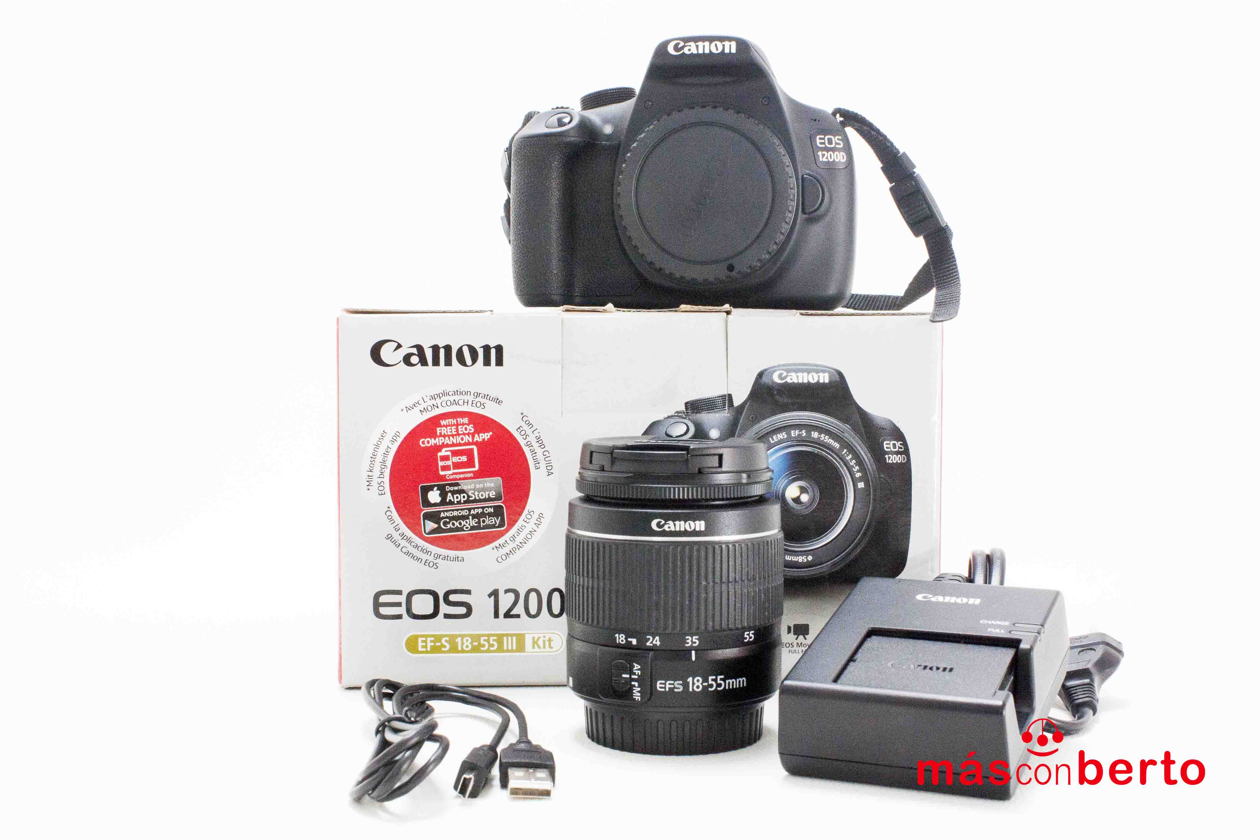 Cámara Canon modelo EOS...