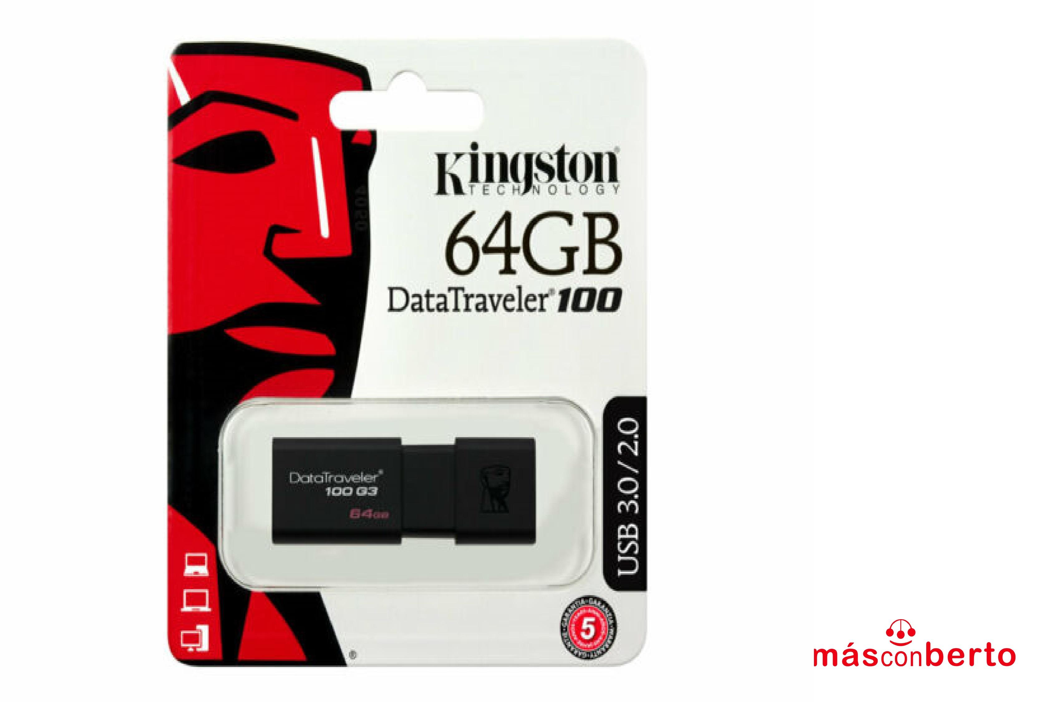 Pendrive Kingston 64GB 2.0
