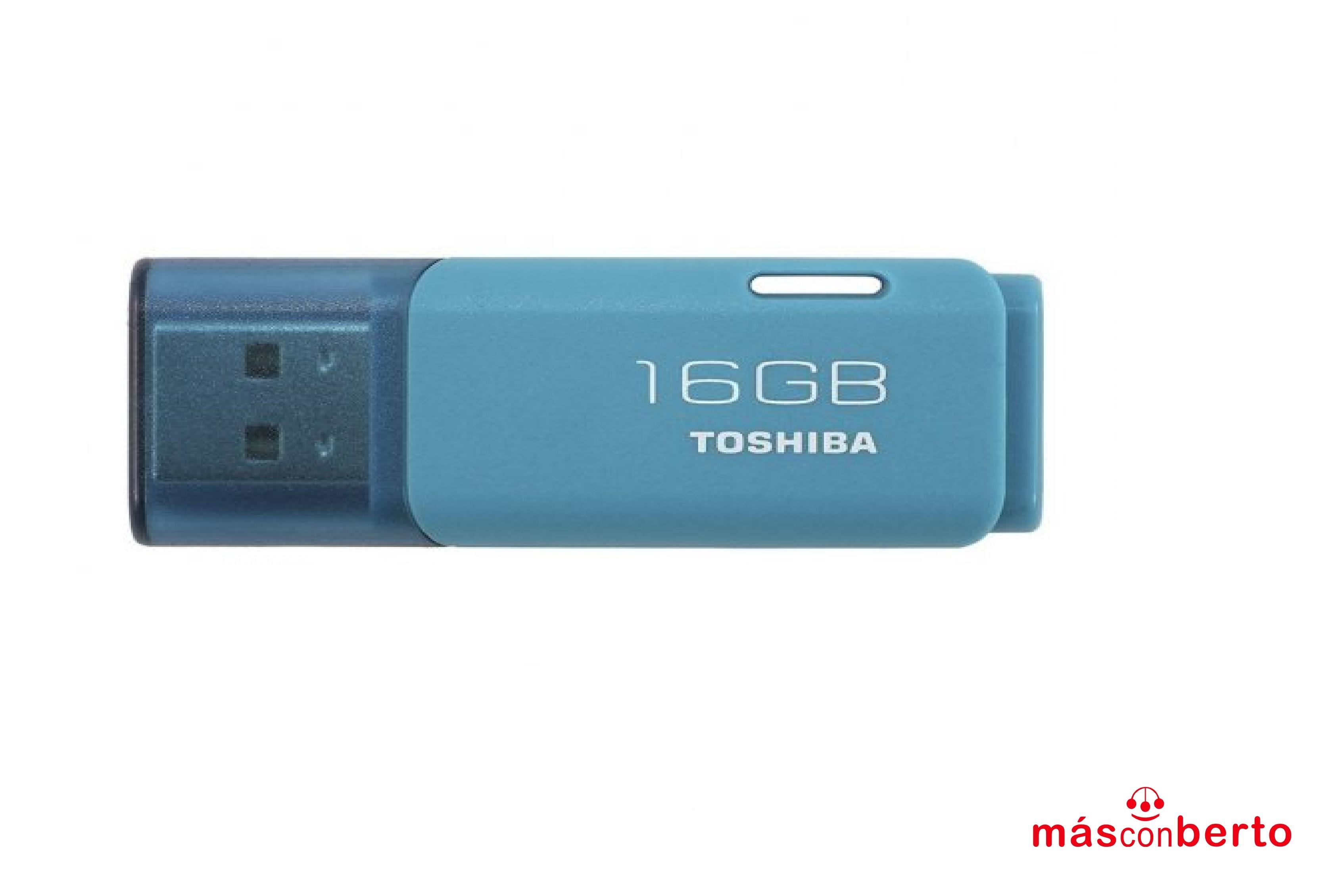 Pendrive Toshiba 16GB Azul