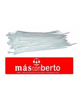Bridas Nylon 4.8x200 blanca...