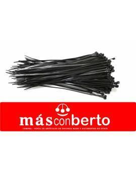 Bridas Nylon 4.8x300 negra...