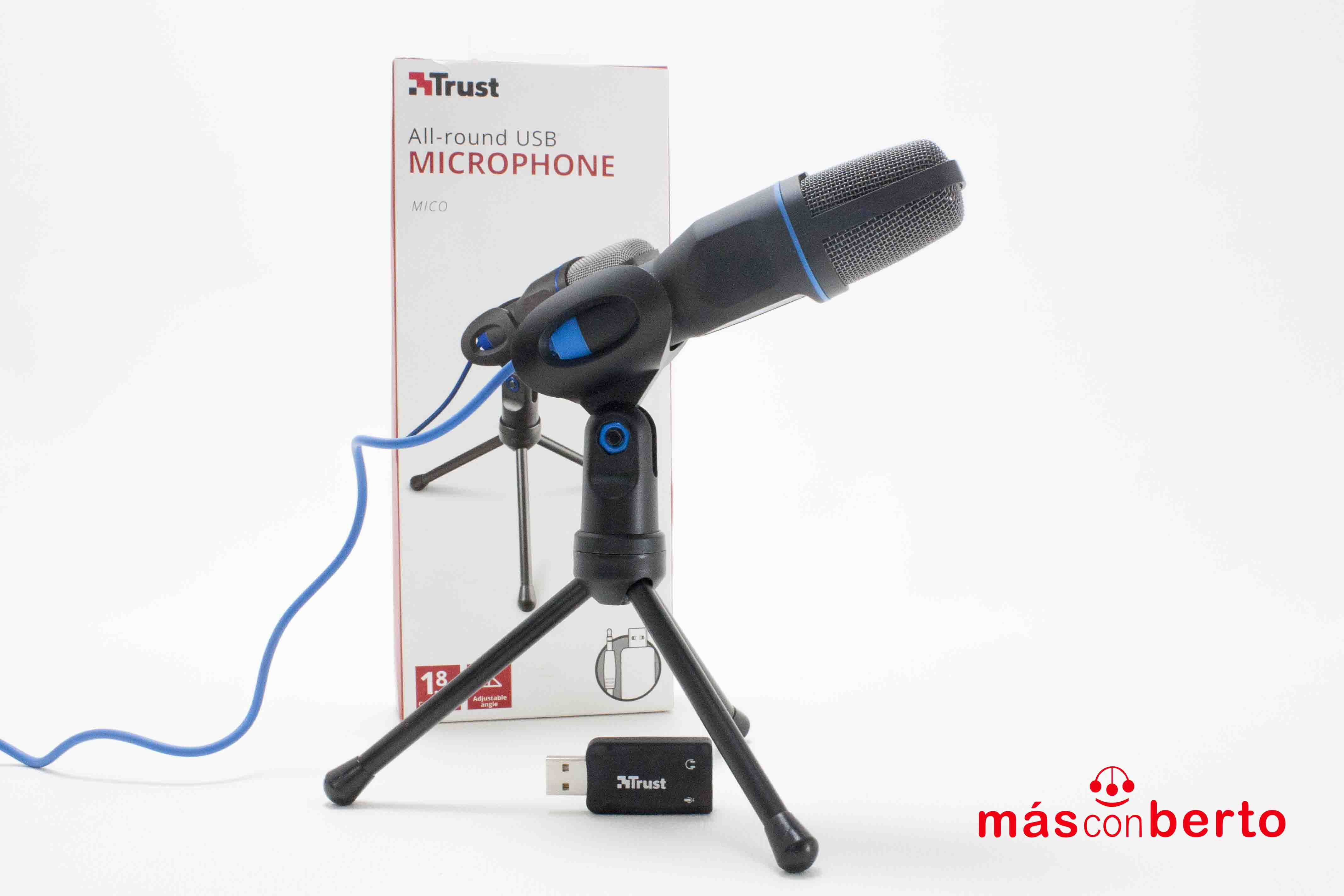 Micrófono USB MICO Trust