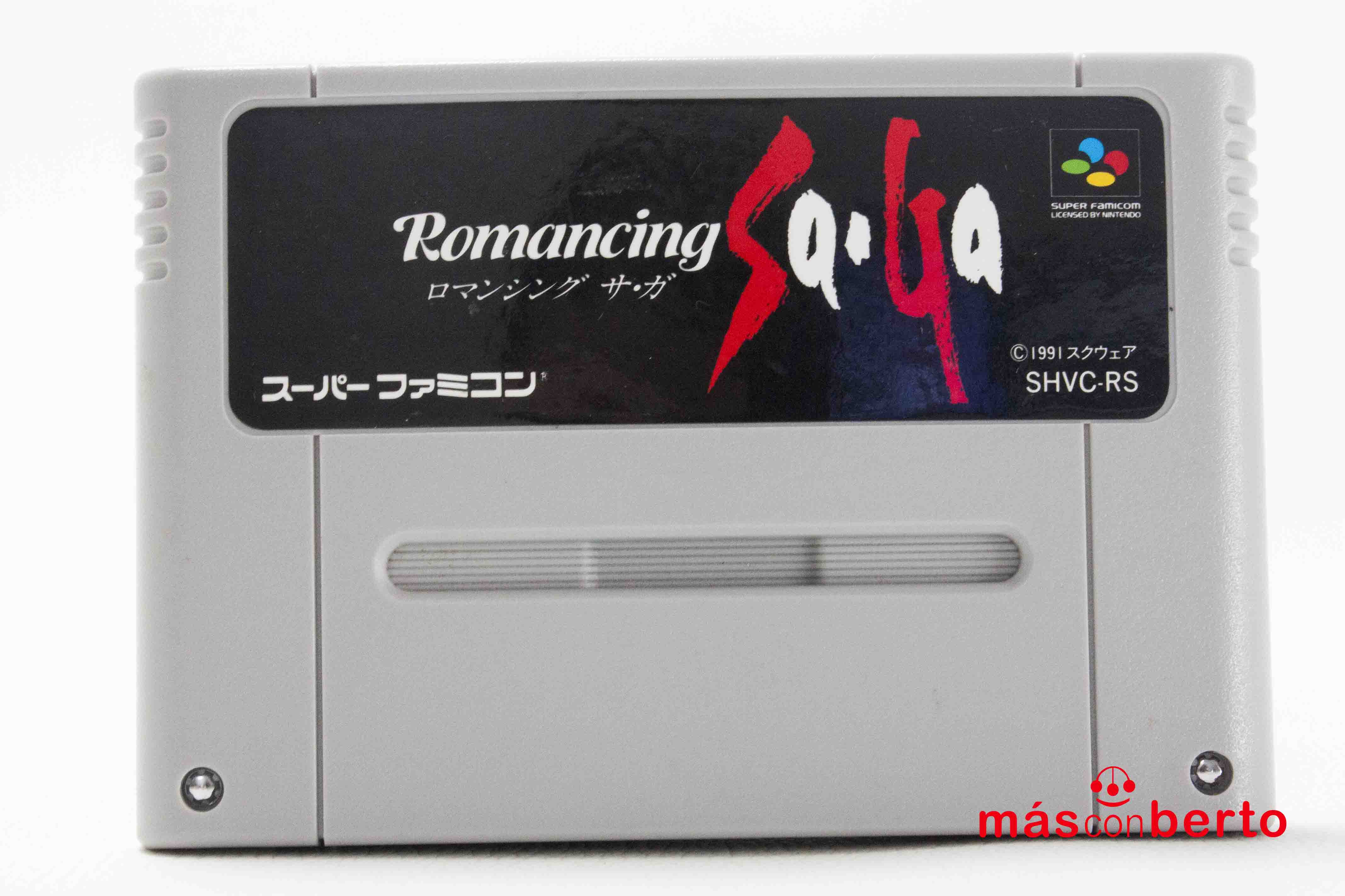 Juego SNES Romancing Saga