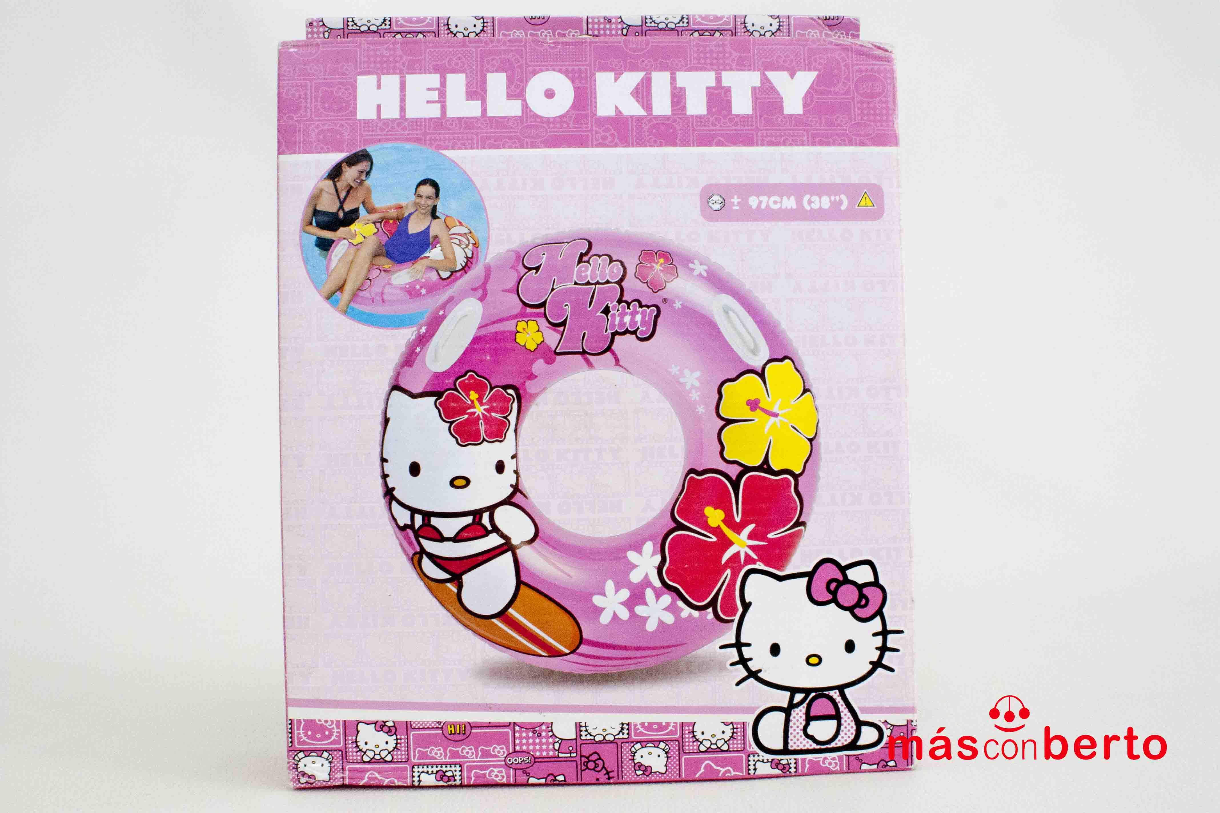 Flotador Hello Kitty 97cm...