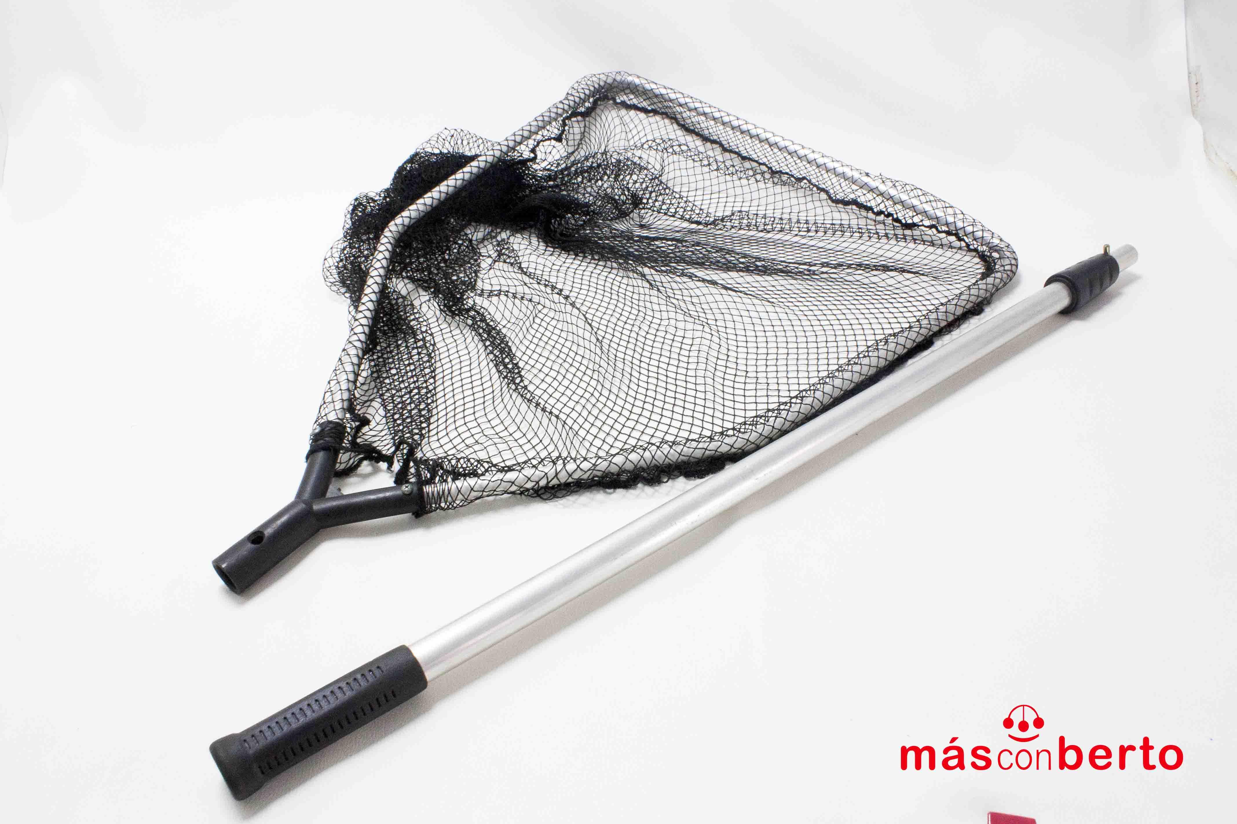Red de pesca con palo...