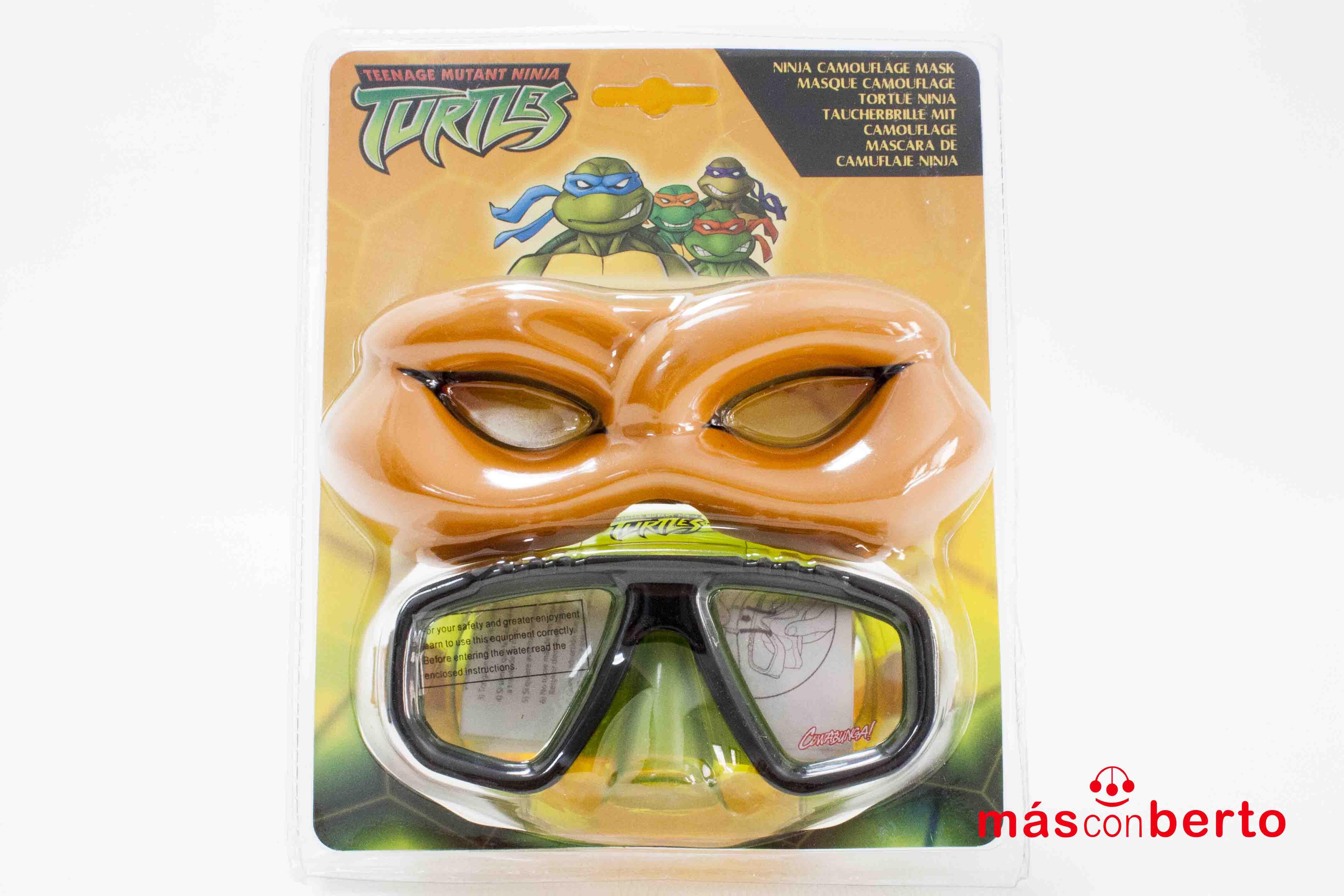 Gafas de buceo con máscara...