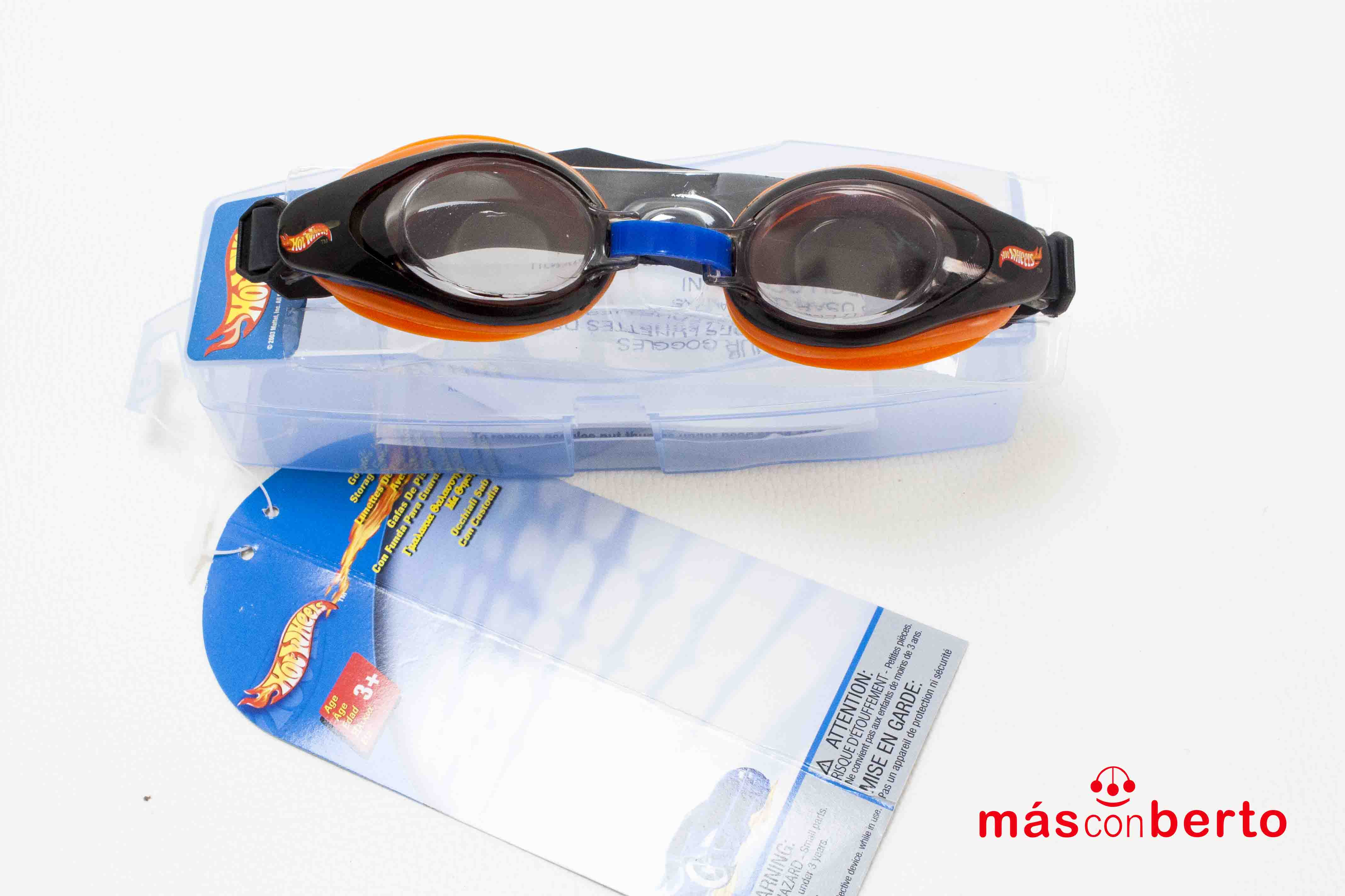 Gafas de piscina Hot Wheels