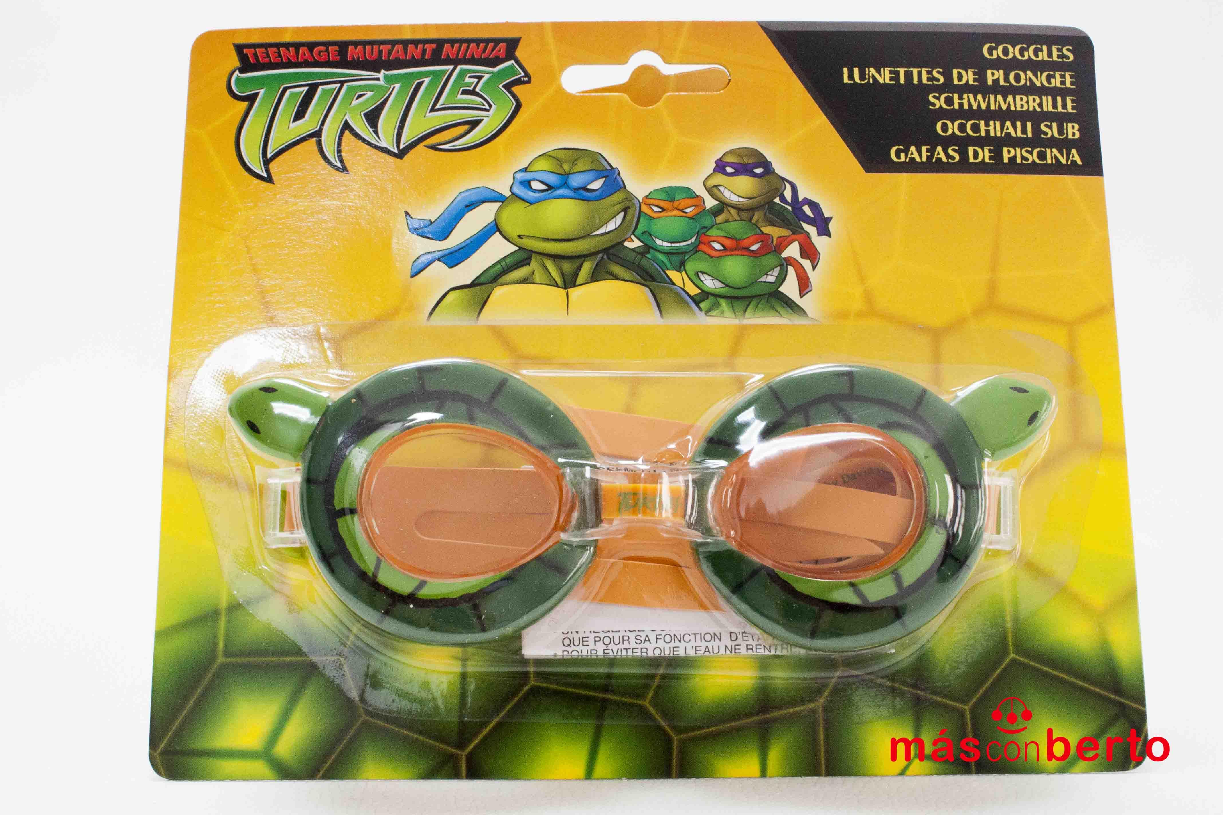 Gafas de piscina Tortugas...