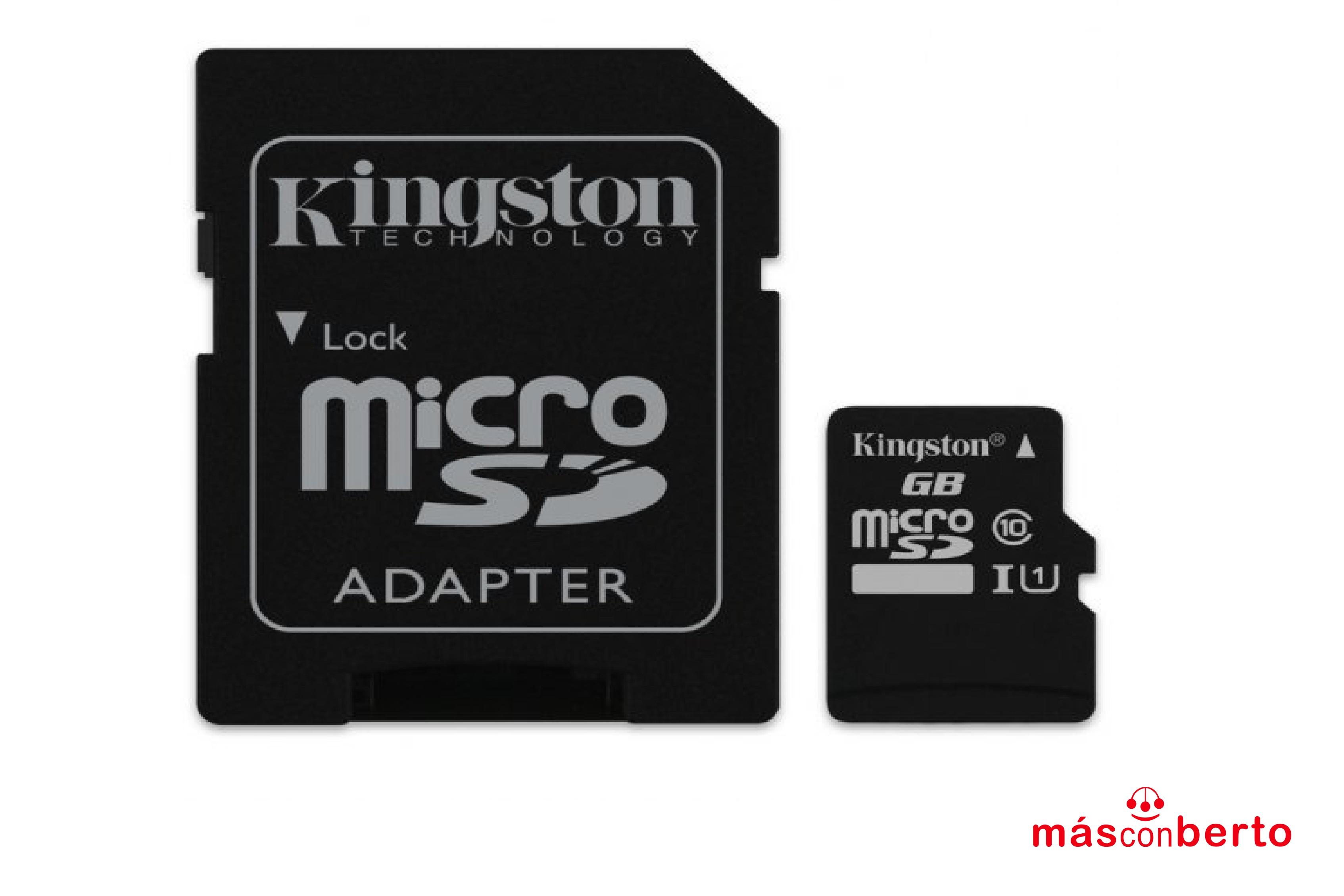 Tarjeta Micro SD 16GB con...