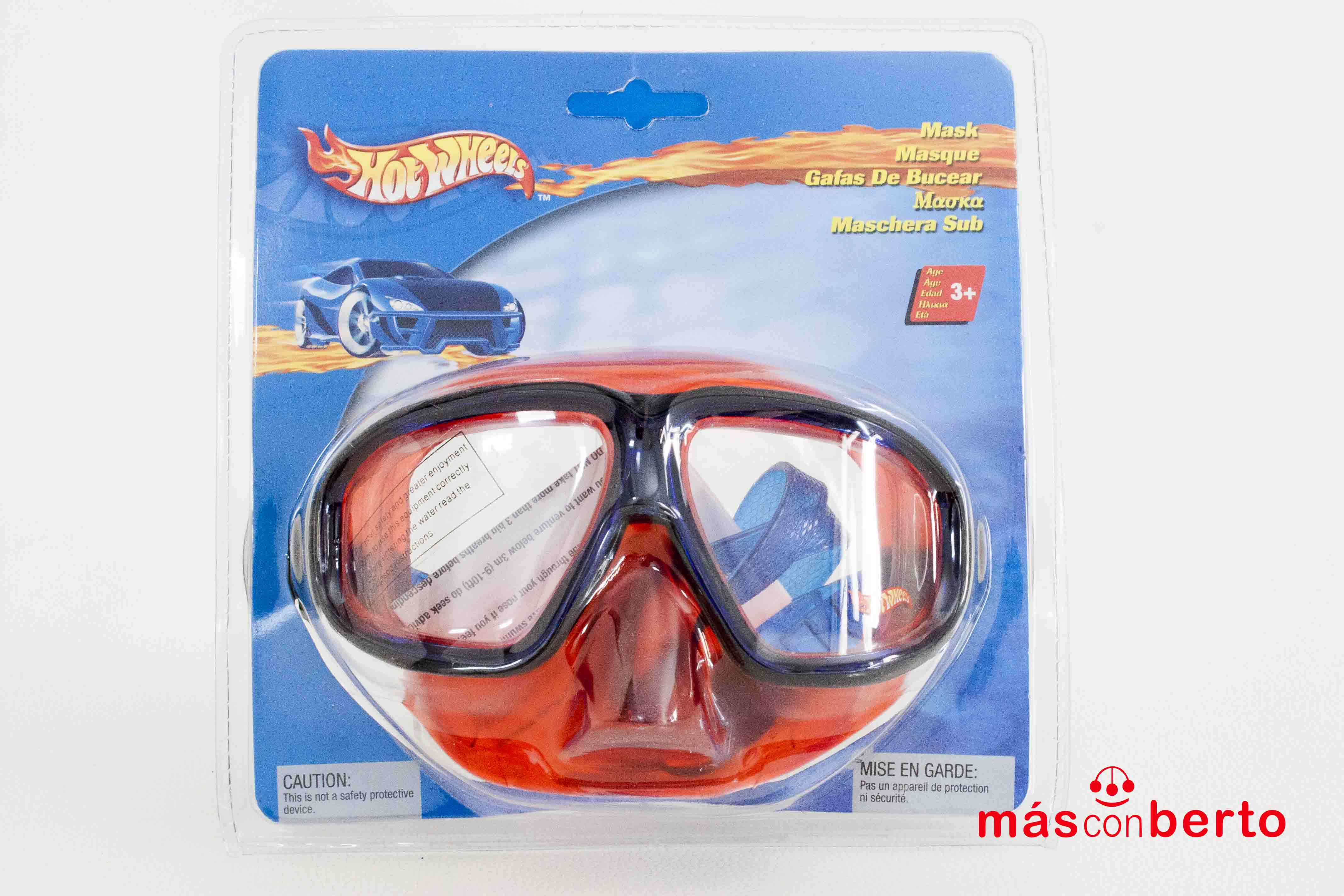 Gafas de buceo HotWheels