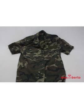 Camisa militar boscosa M/C...