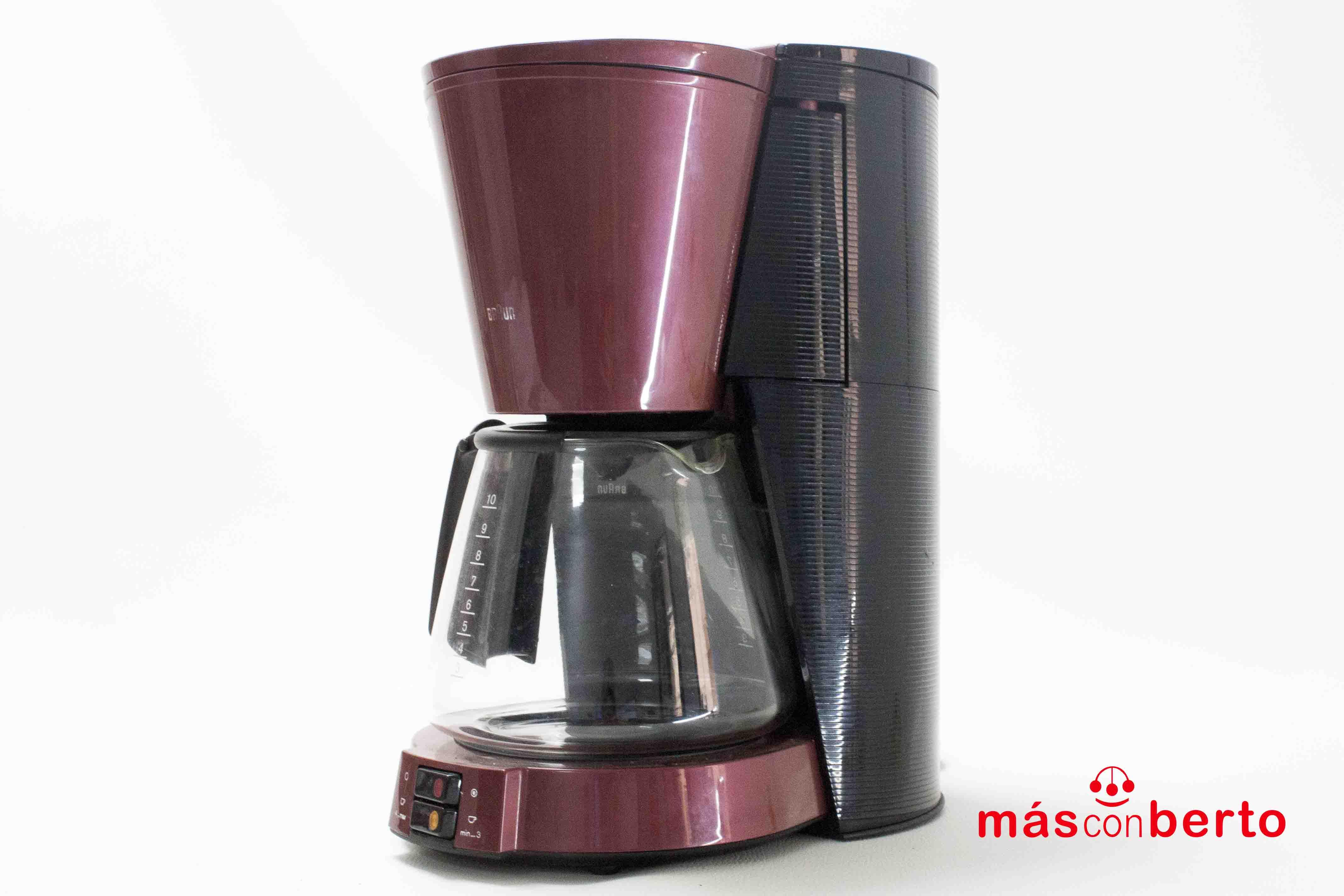Cafetera Braun Aroma Select...