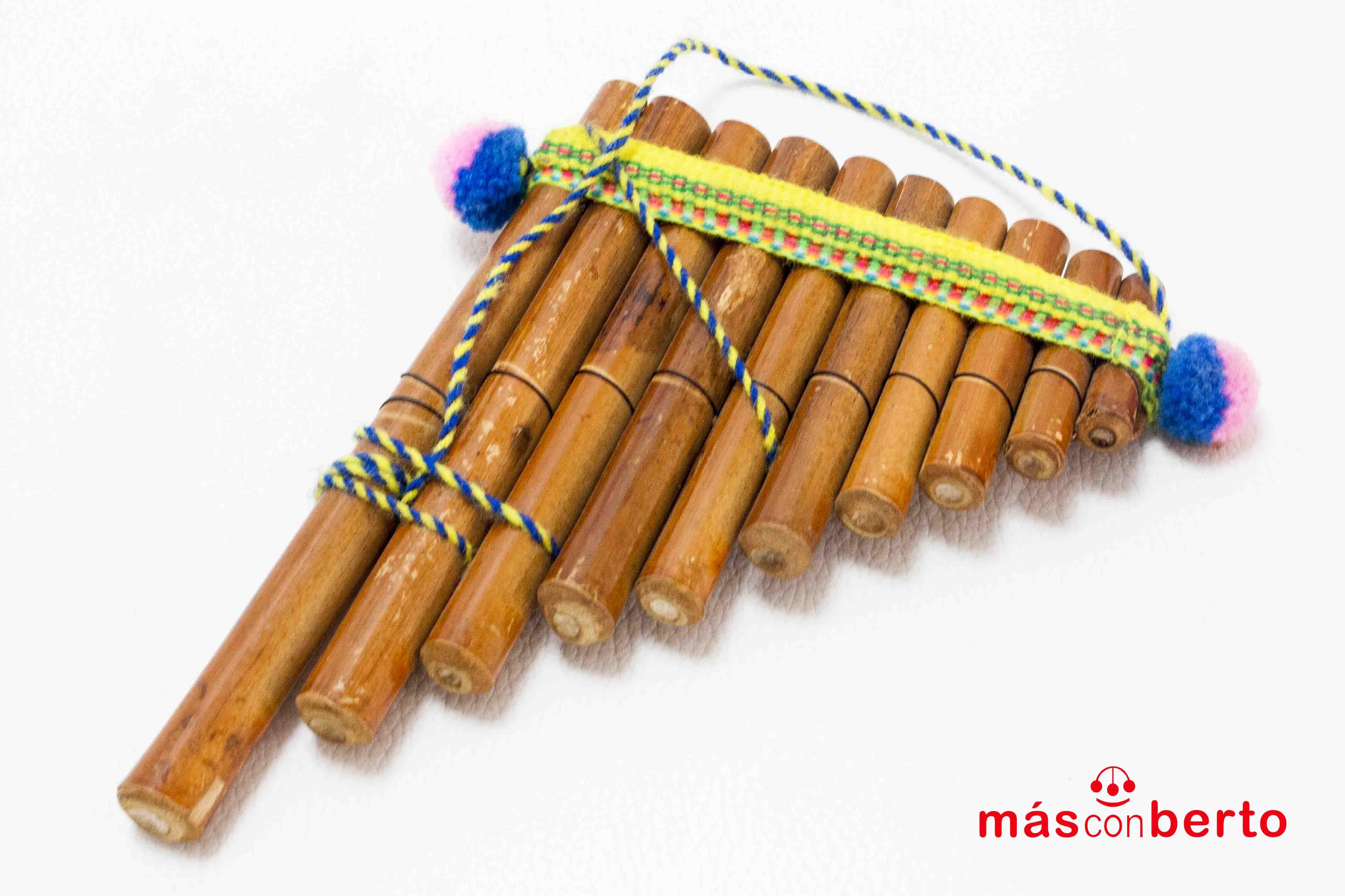 Flauta Andina de Bambú