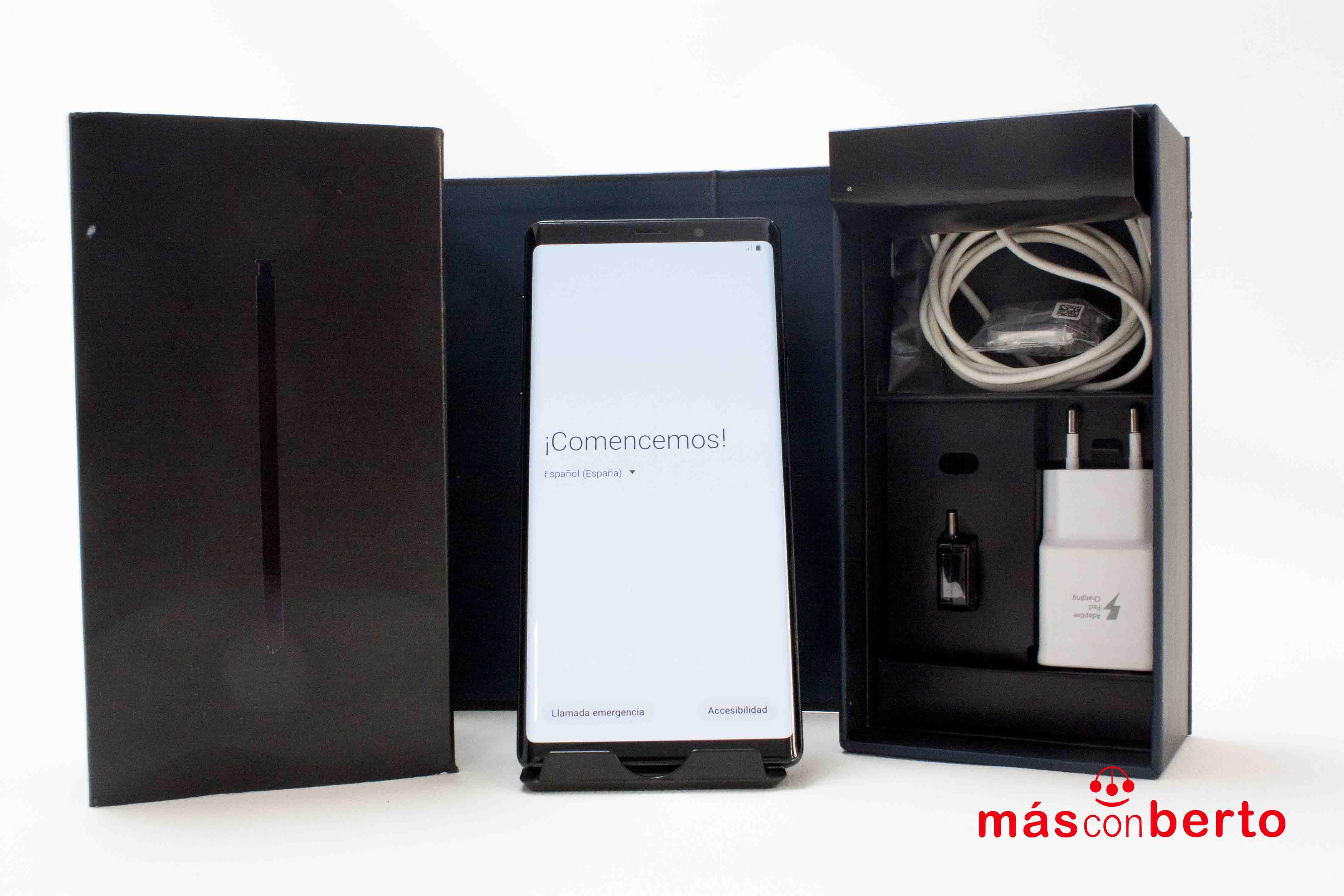 Móvil Samsung Galaxy Note 9...