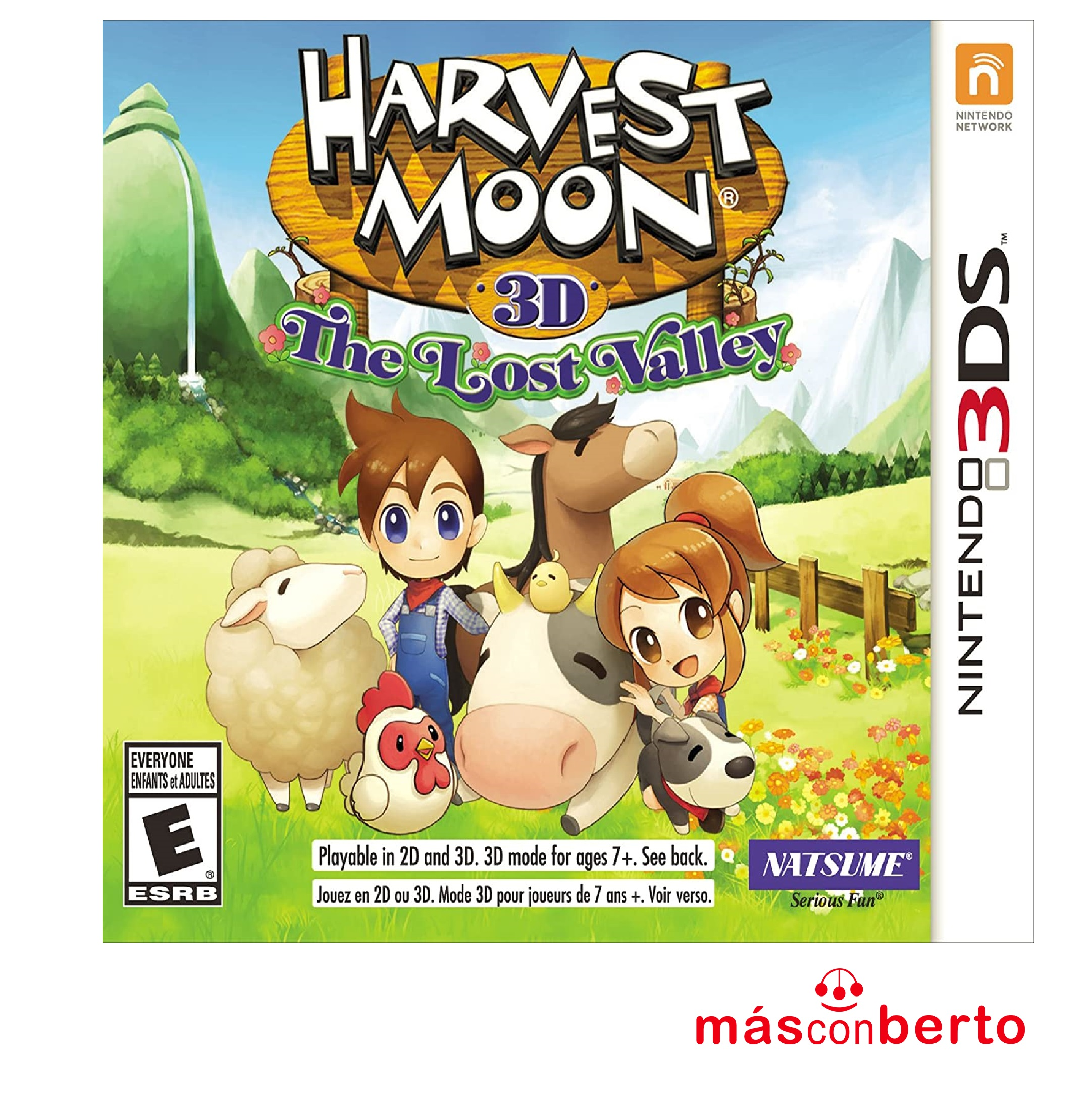 Juego 3DS Harvest Moon