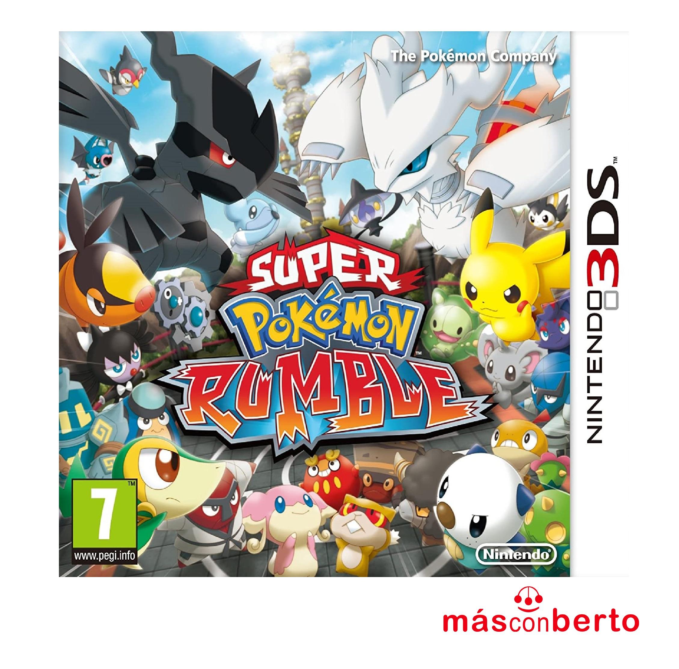Juego 3DS Super Pokémon Rumble