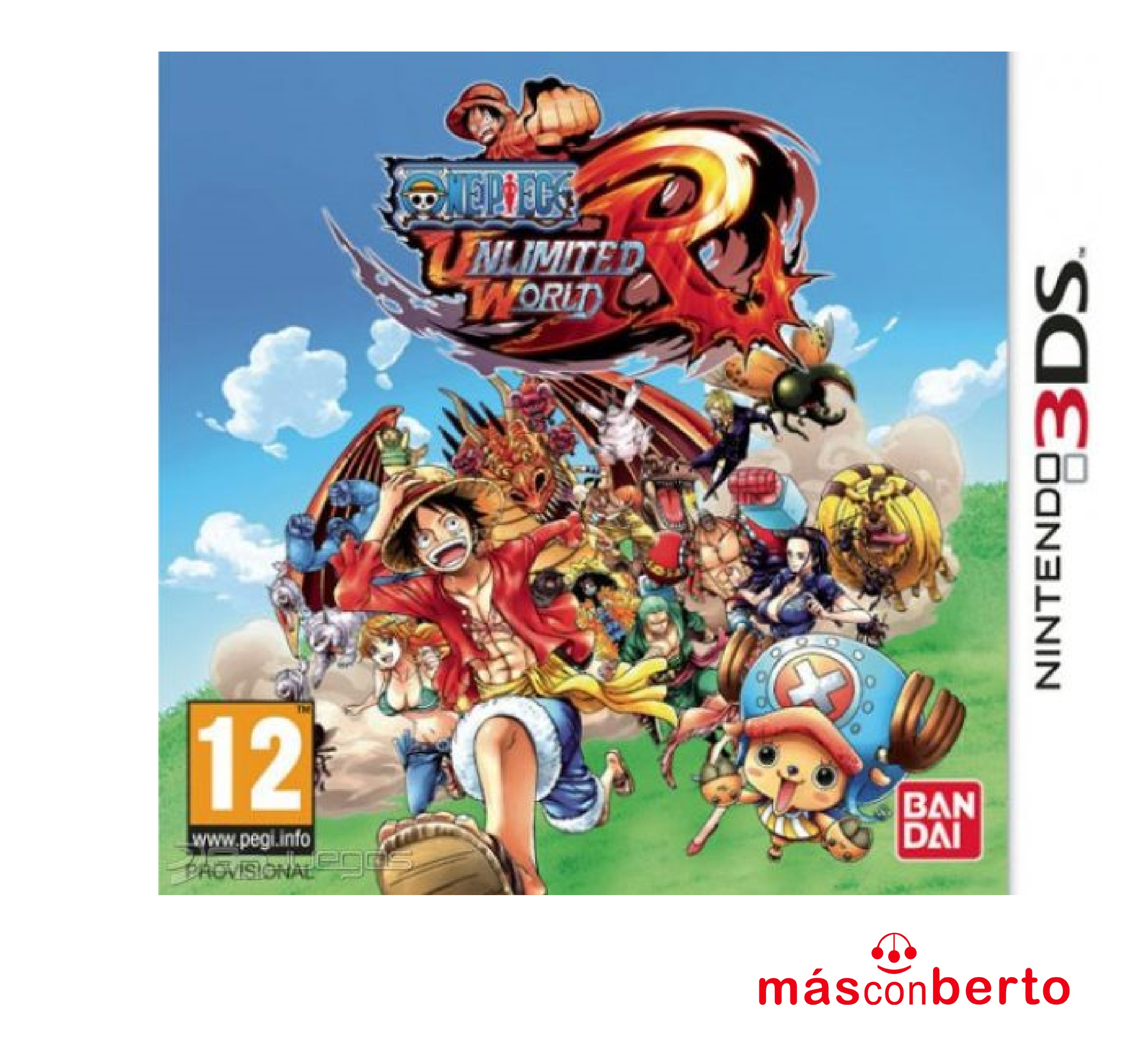 Juego 3DS Unlimited World
