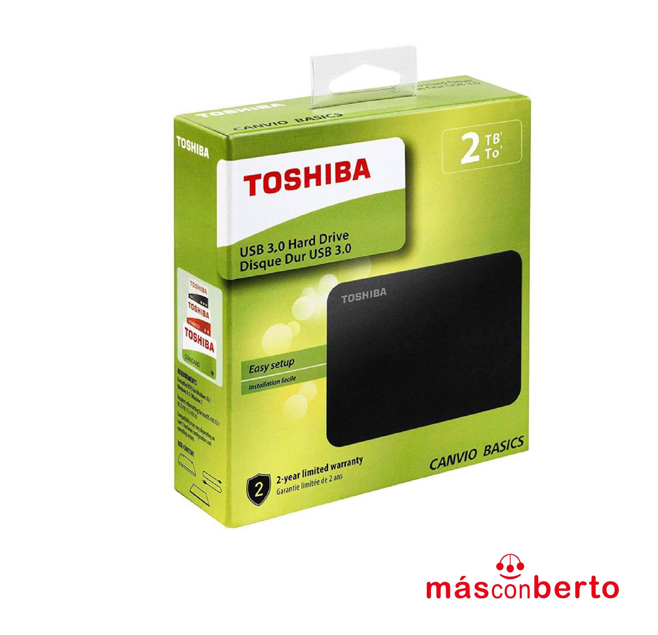 Disco Duro 2TB Toshiba USB...