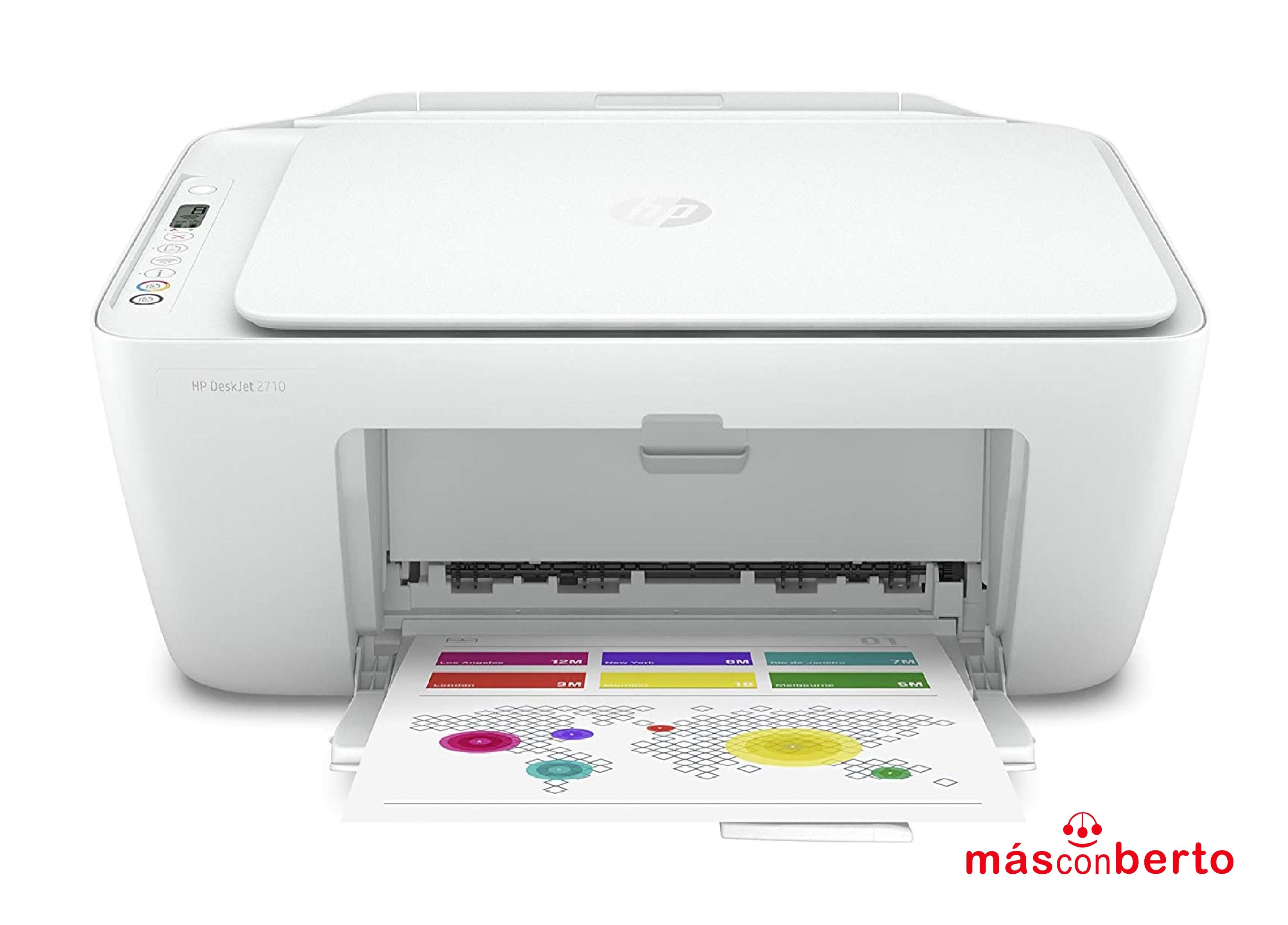 Impresora HP Deskjet 2710 Wifi