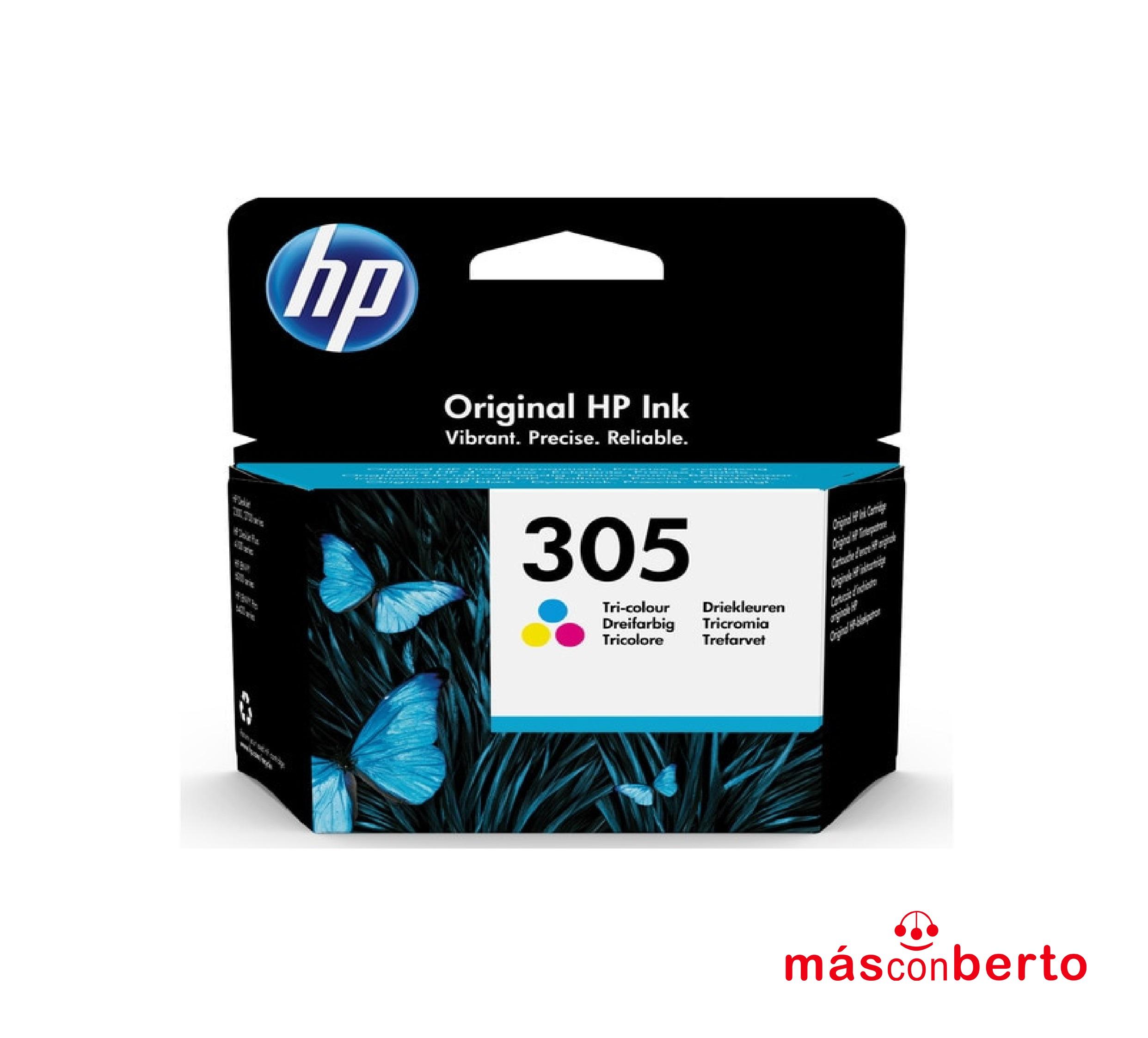 Cartucho de Tinta HP 305 color